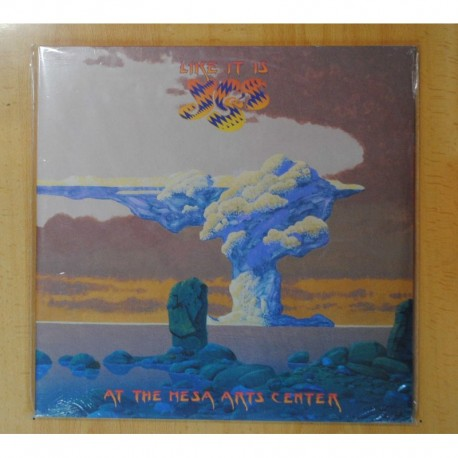 YES - LIKE IT IS / AT THE MESA ARTS CENTER - GATEFOLD - 2 LP