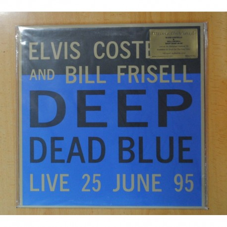 ELVIS COSTELLO AND BILL FRISELL - DEEP DEAD BLUE - LP
