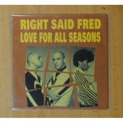 RIGHT SAID FRED - LOVE FOR ALL REASON - SINGLE