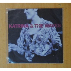 KATRINA AND THE WAVES - PET THE TIGER / BLUE WATER BLUES - SINGLE