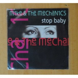 MIKE & THE MECHANICS - STOP BABY / GET UP - SINGLE