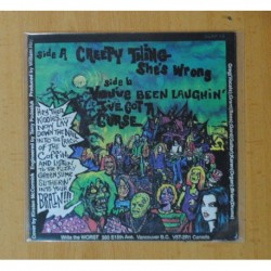THE WORST - CREEPY THING SHE´S WRONG / YOU´VE BEEN LAUGHIN´ I´ VE GOT A CURSE - SINGLE