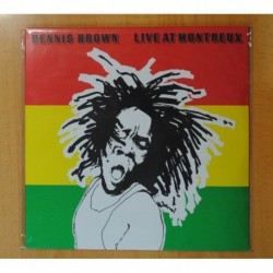 DENNIS BROWN - LIVE AT MONTREUX - LP