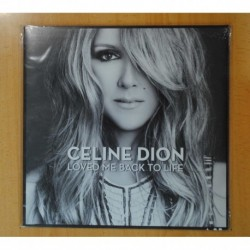 CELINE DION - LOVED ME BACK TO LIFE - LP