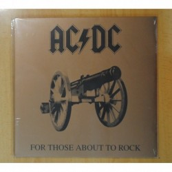 AC/DC - FOR THOSE ABOUT TO ROCK WE SALUTE YOU - LP