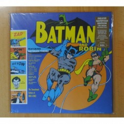 THE SENSATIONAL GUITARS OF DAN & DALE - BATMAN AND ROBIN - LP