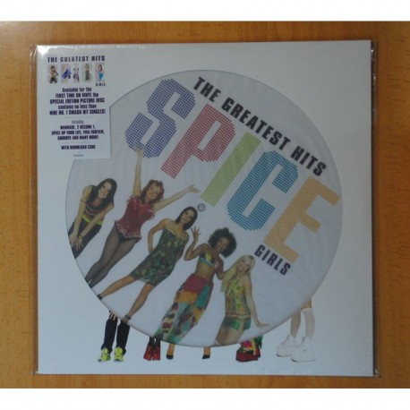 SPICE GIRLS - THE GREATEST HITS - LP