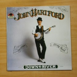 JOHN HARTFORD - DOWN ON THE RIVER - LP
