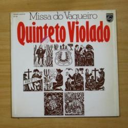 QUINTETO VIOLADO - MISSA DO VAQUEIRO - LP