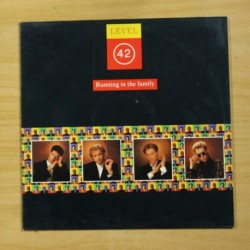 LEVEL 42 - RUNNING IN THE FAMILY - LP