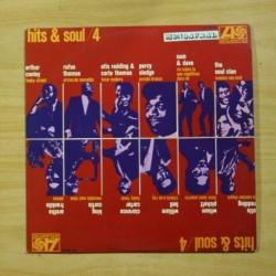 VARIOS - HITS & SOUL 4 - LP