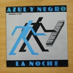 AZUL Y NEGRO - LA NOCHE - MAXI