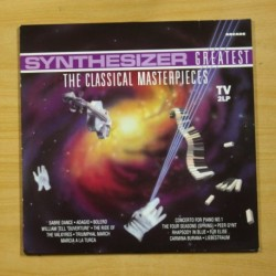 VARIOS - SYNTHESIZER GREATEST - 2 LP
