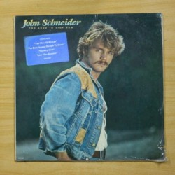 JOHN SCHMEIDER - TOO GOOD TO STOP NOW - LP