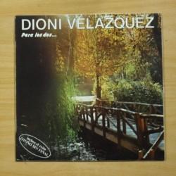 DIONI VELAZQUEZ - PARA LOS DOS - PROMO - LP