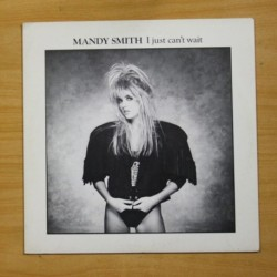 MANDY SMITH - I JUST CAN´T WAIT - MAXI