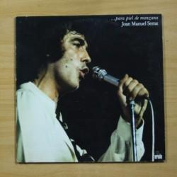 JOAN MANUEL SERRAT - PARA PIEL DE MANZANA - GATEFOLD - LP
