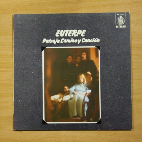 EUTERPE - PAISAJE CAMINO Y CANCION - LP