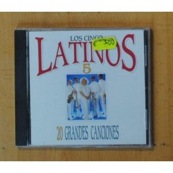 LOS CINCO LATINOS - 20 GRANDES CANCIONES - CD