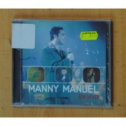 MANNY MANUEL - EN VIVO - CD