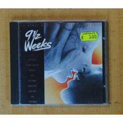 VARIOS - NUEVE SEMANAS Y MEDIA - CD