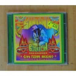 SANTANA - CORAZON LIVE FROM MEXICO - CD