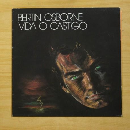BERTIN OSBORNE - VIDA O CASTIGO - LP