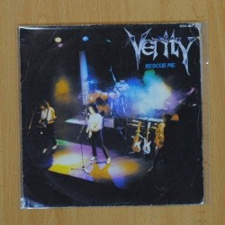 VERITY - RESCUE ME / STOP PRETENDING - SINGLE