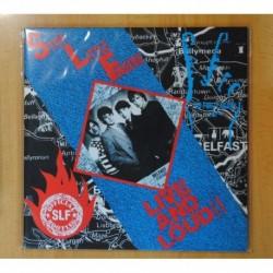 STIFF LITTLE FINGERS - LIVE AND LOUD!! - 2 LP
