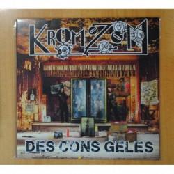 KROMOZOM - DES CONS GELES - LP