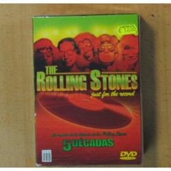 THE ROLLING STONES - JUST FOR THE RECORD - DVD