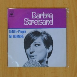BARBRA STREISAND - GENTE / MI HOMBRE - SINGLE