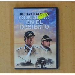 COMANDO EN EL DESIERTO - DVD