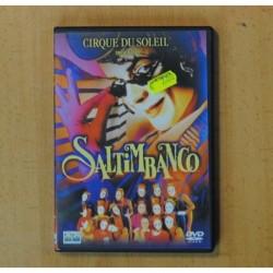 CIRQUE DU SOLEIL - SALTIMBANCO - DVD