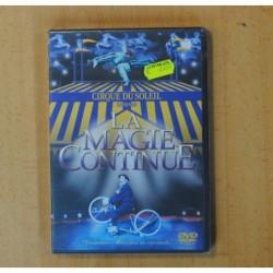 CIRQUE DU SOLEIL - LA MAGIE CONTINUE - DVD