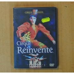 CIRQUE DU SOLEIL - CIRQUE REINVENTE - DVD