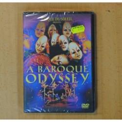 CIRQUE DU SOLEIL - A BAROQUE ODYSSEY - DVD