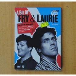A BIT OF FRY & LAURIE TEMPORADA 1 - 2 DVD