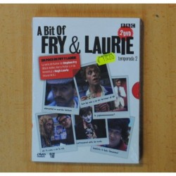 A BIT OF FRY & LAURIE TEMPORADA 2 - 2 DVD