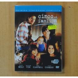 CINCO EN FAMILIA PRIMERA TEMPORADA - 6 DVD