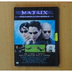 MATRIX DESCUBRE LO INCREIBLE - DVD