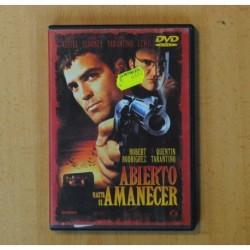 ABIERTO HASTA EL AMANECER - DVD