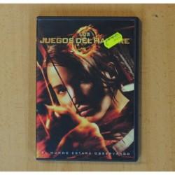 LOS JUEGOS DEL HAMBRE - DVD