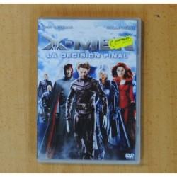 X-MEN LA DECISION FINAL - DVD