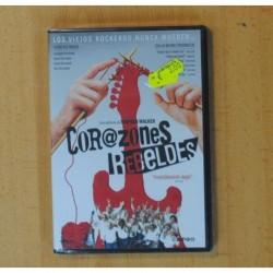 CORAZONES REBELDES - DVD