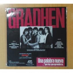 GRADHEN - UNA PALABRA NUEVA - LP