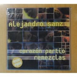 ALEJANDRO SANZ - CORAZON PARTIO REMEZCLAS - MAXI