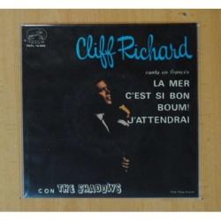 CLIFF RICHARDS & THE SHADOWS - LA MER + 3 - EP