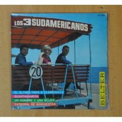 LOS TRES SUDAMERICANOS - CATEDRAL DE WINCHESTER + 3 - EP