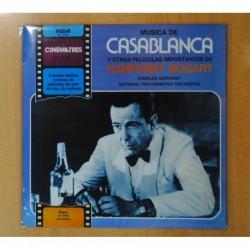 CHARLES GERHARDT / NATIONAL PHILHARMONIC ORCHESTRA - CASABLANCA Y OTRAS PELICULAS IMPORTANTES DE HUMPHREY BOGART - BSO - LP